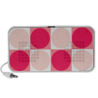 Doodle rosado de DOTTIE iPod Altavoces