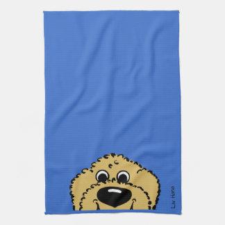 Doodle Smile blond Towel
