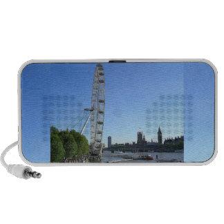 Doodle Speaker with London Eye Ferris Wheel