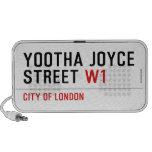 YOOTHA JOYCE Street  Doodle Speakers