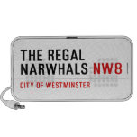 THE REGAL  NARWHALS  Doodle Speakers