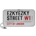 ezkyezky Street  Doodle Speakers