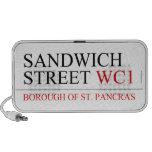 SANDWICH STREET  Doodle Speakers