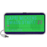 Capri Mickens  Swagg Street  Doodle Speakers