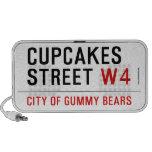 cupcakes Street  Doodle Speakers