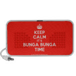[Crown] keep calm it's bunga bunga time  Doodle Speakers