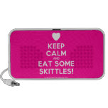 [Love heart] keep calm and eat some skittles!  Doodle Speakers