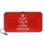[Crown] keep calm and love hassan  Doodle Speakers