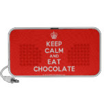 [Cupcake] keep calm and eat chocolate  Doodle Speakers