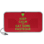 [Chef hat] keep calm and eat some pasteque  Doodle Speakers