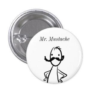 doodle, Sr. Mustache Pin