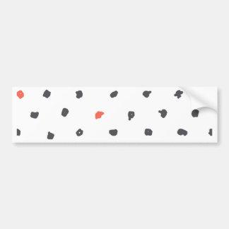Doodle that Points Bumper Sticker