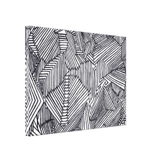 Doodle too canvas