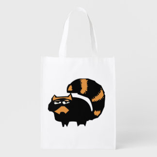 doodle wallie wear racoon shopping bags grocery bag