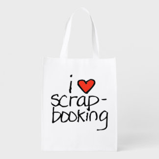 doodle wallie wear scrap booking shopping bags reusable grocery bags