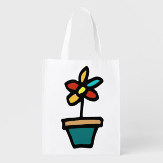doodle wallie wear shopping bags reusable grocery bag