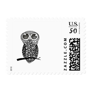 DoodleArtOwl Postage