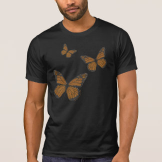 Doodled Monarch Men's Dark Shirt