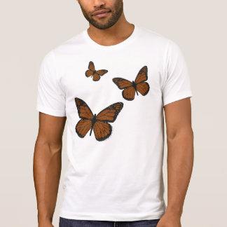 Doodled Monarch Men's Light Shirt