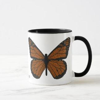 Doodled Monarch Mug