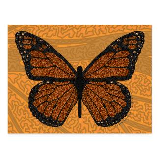 Doodled Monarch Postcard