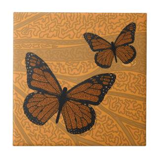 Doodled Monarch Tile
