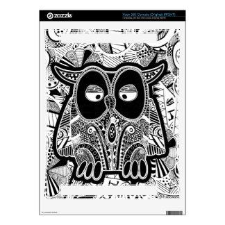 doodles and owls xbox 360 decals