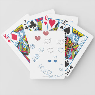 Doodles Bicycle Playing Cards