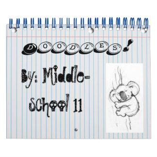 ¡Doodles! Calendarios