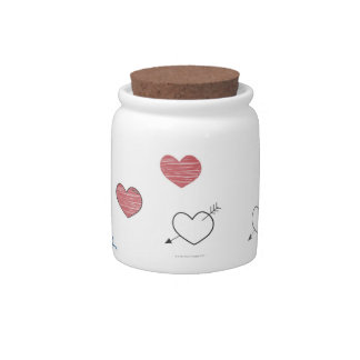 Doodles Candy Dish