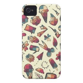 Doodles Case-Mate iPhone 4 Cases