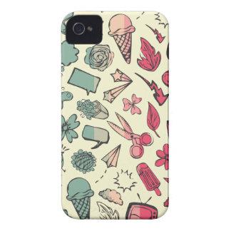 Doodles iPhone 4 Case