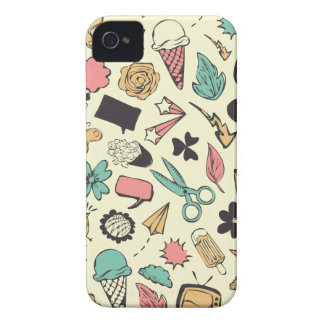 Doodles iPhone 4 Cover