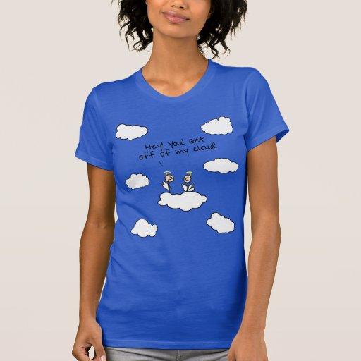 ¡Doodles de la música! Consiga de mi nube Playera