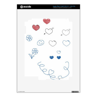 Doodles Skins For iPad 3