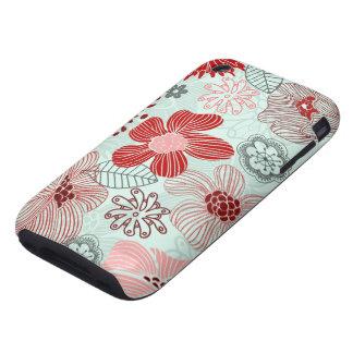 doodles tough iPhone 3 cases