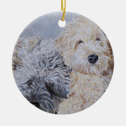 Doodles Two Christmas Ornament