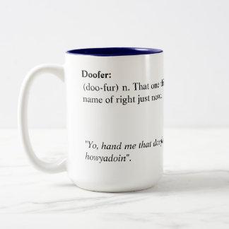 Doofer Mug