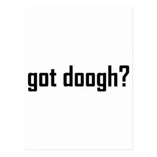 ¿doogh conseguido? tarjetas postales