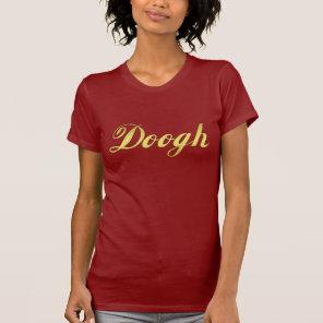 Doogh Iranian drink Golden Text T-Shirt