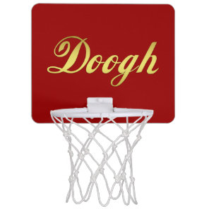 Doogh National drink of Iran Mini Basketball Hoop