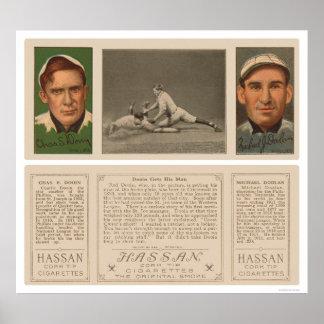 Dooin Gets His Man Baseball 1912 Print