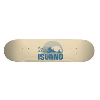Dookie Island - Blue Skateboard