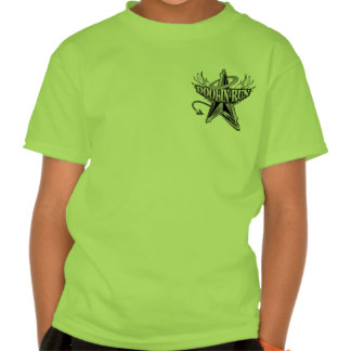 Doolin funciona con el logotipo en negro y blanco camisetas