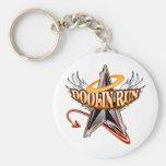 Doolin Run Logo - Color Basic Round Button Keychain
