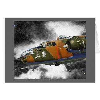 Doolittles Raiders B-25 Card