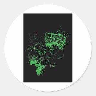 Doom Classic Round Sticker