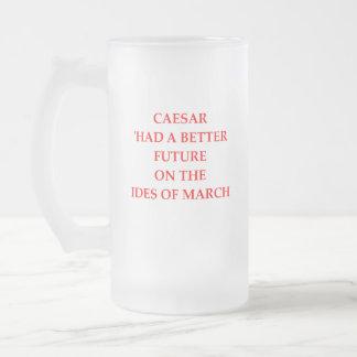 DOOM FROSTED GLASS BEER MUG