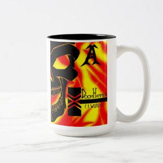 Doom Hammer Two-Tone Coffee Mug