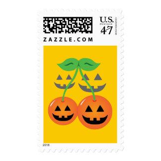 Doom Jack o' Lantern Cherries Stamp